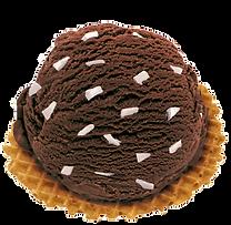 Eissorte Stracciatella Nero