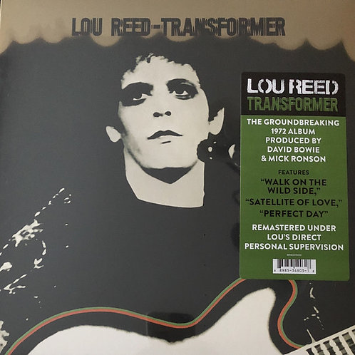 Lou Reed: Transformer Vinyl Record