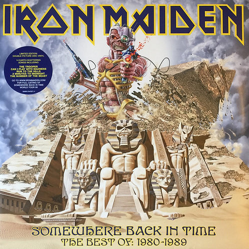 Iron Maiden: Somewhere Back In Time The Best Of 1980-1989 Vinyl Record