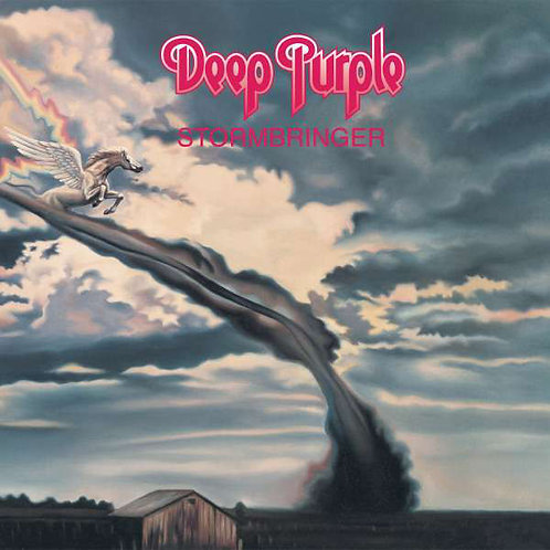 Deep Purple: Stormbringer Vinyl Record (Purple Vinyl)