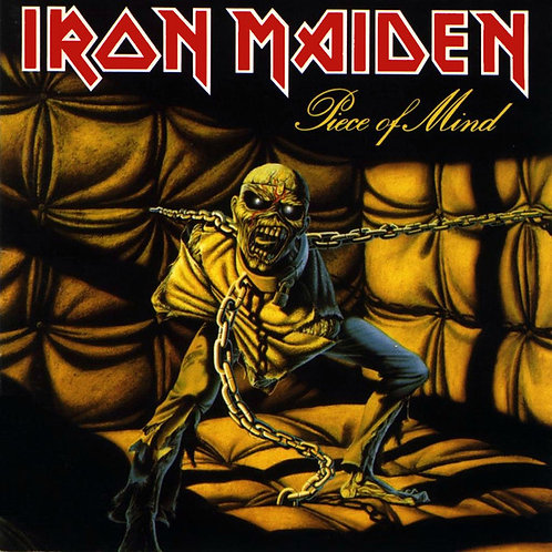 Iron Maiden: Piece Of Mind Vinyl Record