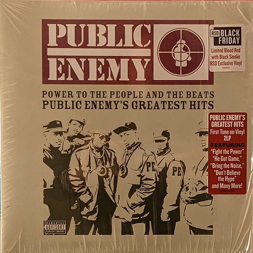 Public Enemy: Power To The People Public Enemy's Greatest Hits Vinyl Record