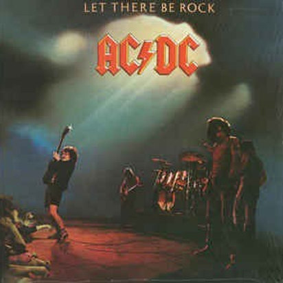 AC/DC: Let There Be Rock Vinyl Record