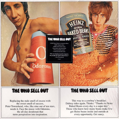 The Who: Sell Out Deluxe Remastered Vinyl Record