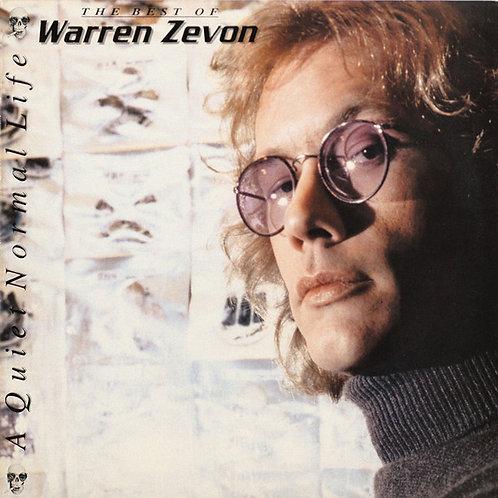Warren Zevon: A Quiet Normal Life, The Best Of Warren Zevon Vinyl Record Front