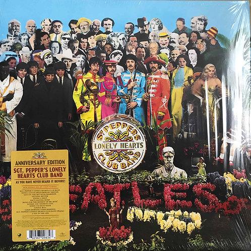 The Beatles Sgt. Pepper's Anniversary vinyl record
