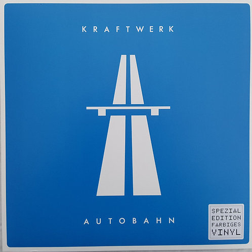 Kraftwerk: Autobahn Blue Vinyl Record