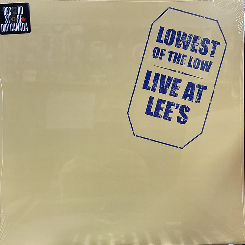 Lowest of The Low Vinyl Record
