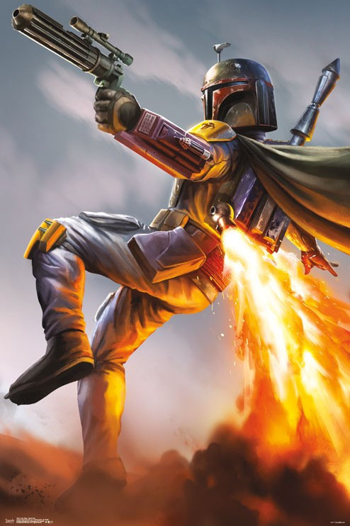 Star Wars Boba Fett Poster
