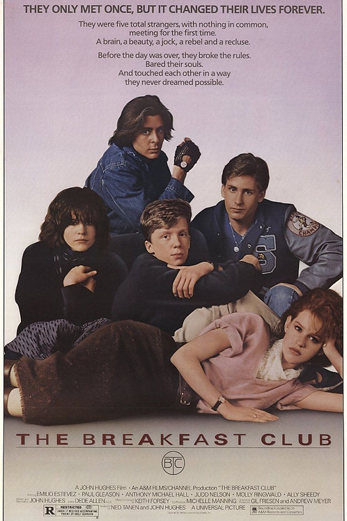 Breakfast Club, The: Movie Poster
