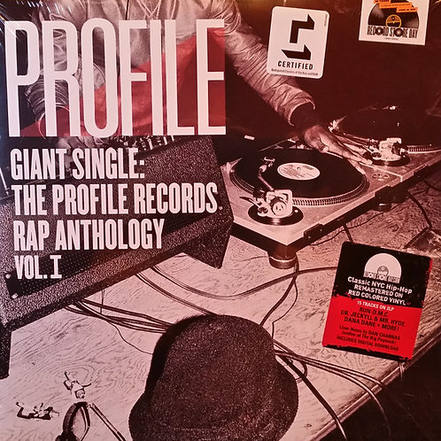 Profile Giant Single: The Profile Records Rap Anthology Vol. 1 Vinyl Record