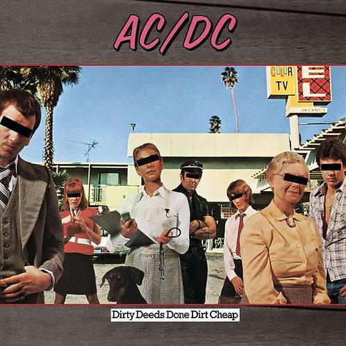 AC/DC: Dirty Deeds Done Dirt Cheap Vinyl Record