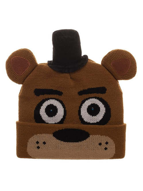 Five Nights At Freddy's Beanie With  LED Lights