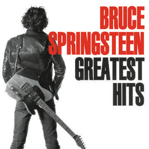 Springsteen, Bruce: Greatest Hits Double Vinyl Record Front Cover