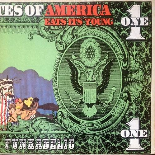 Funkadelic:  America Eats It's Young Vinyl Record