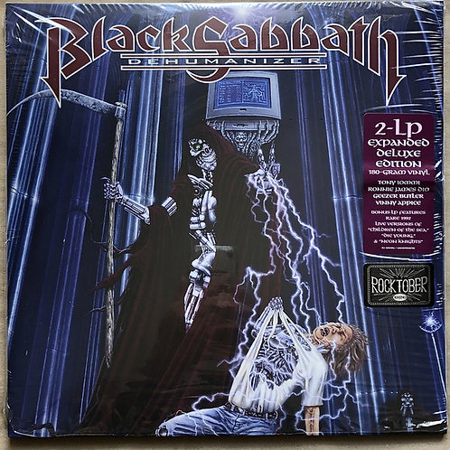 Black Sabbath: Dehumanizer Vinyl Record 180gr Deluxe Edition Front Cover