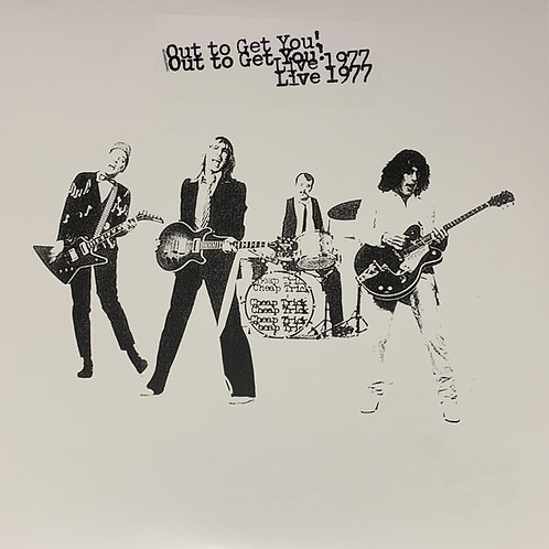 Cheap Trick: Out To Get You Live 1977 Vinyl Record