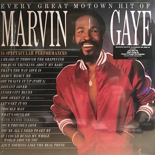Marvin Gaye: Every Great Hit Of Marvin Gaye Vinyl Record