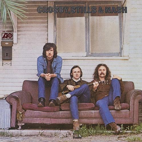 Crosby,Stills & Nash S/T Vinyl Record (Burgundy Vinyl) Front Cover