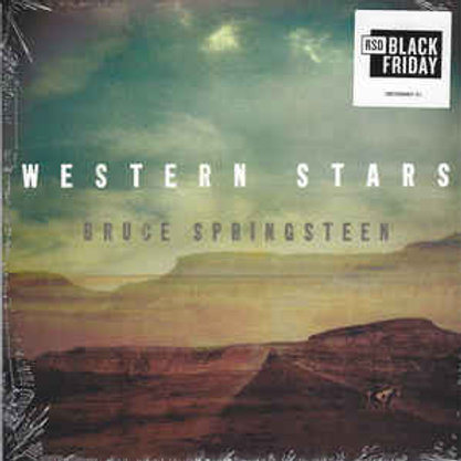 "Bruce Springsteen: Western Stars 7"" Record"