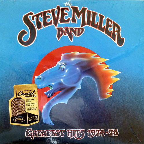 The Stev Miller Band Greatest Hits 1974-78 front cover