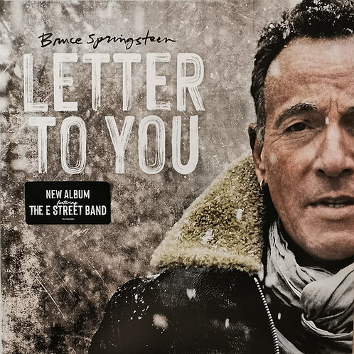 Bruce Springsteen: Letter To you Indie Store Grey Vinyl Record