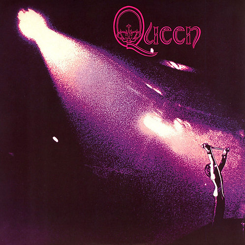 Queen S/T Front Cover vinyl record