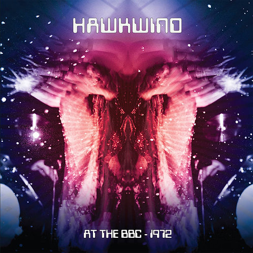 Hawkwind at The BBC 1972 Double Vinyl Record