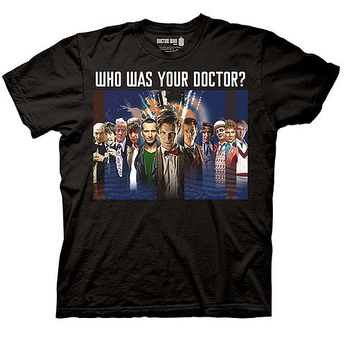 Dr. Who: Who Was Your Doctor T-Shirt