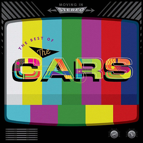 The Best of The Cars:Moving In Stereo Front Cover