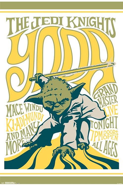 Star Wars Yoda Poster
