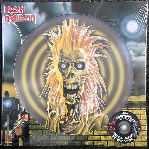 Iron Maiden S/T 40th Anniversary Picture Disc