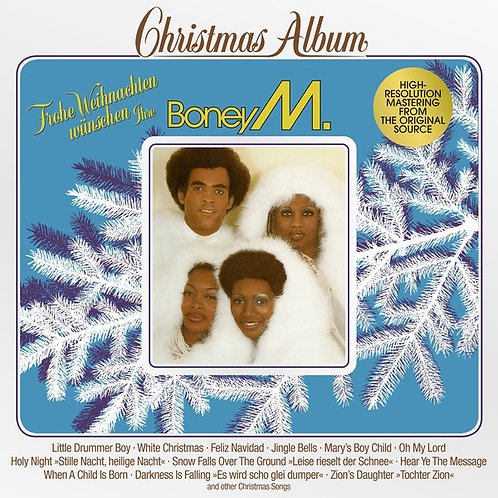 Boney M. Christmas Album Vinyl Record