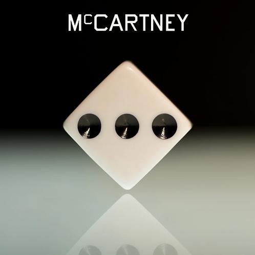 Paul McCartney: McCartney III White  Vinyl Record (Indie Store)