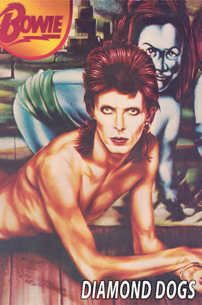 David Bowie: Diamond Dogs Poster