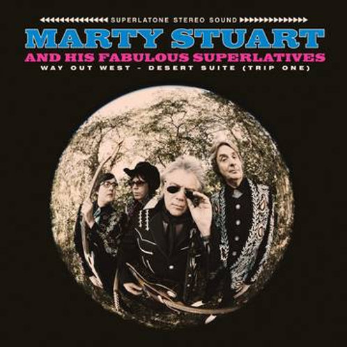 Marty Stuart Way Out West RSD Front Cover