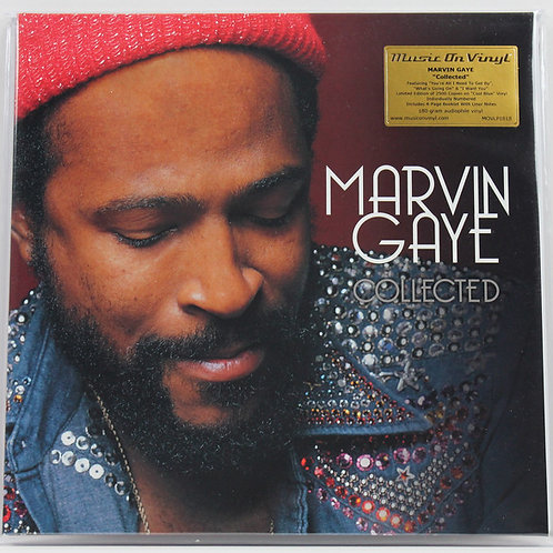 Marvin Gaye ‎– Collected Blue VInyl Record (MOV)