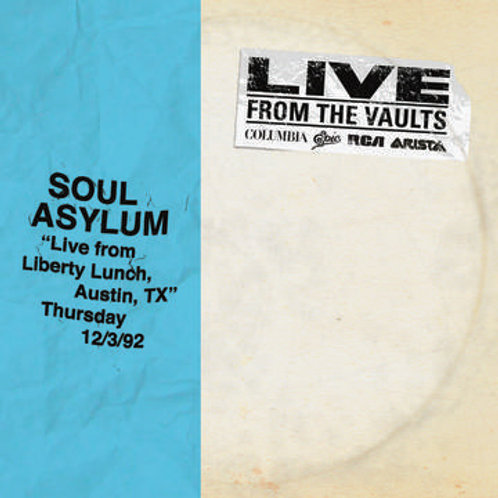 Soul Asylum Liver From The Vaults front cover RSD
