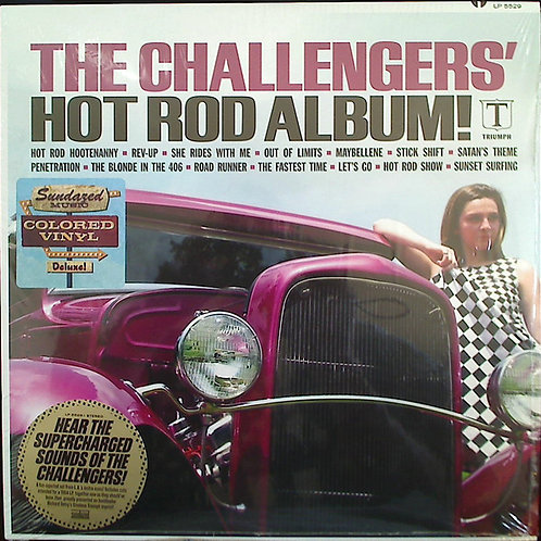 Challengers, The: Hot Rod Album Red Vinyl