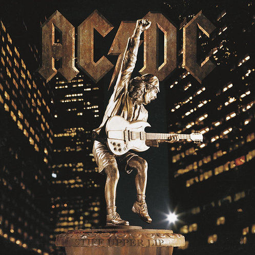 AC/DC: Stiff Upper Lip Vinyl Record