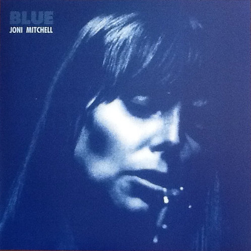 Joni Mitchell: Blue (Blue Vinyl Record)  Front cover