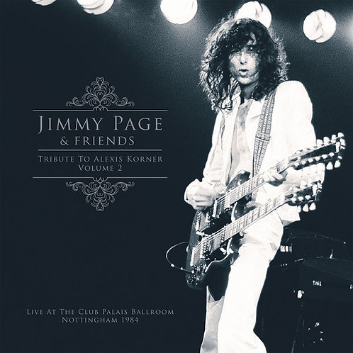 Jimmy Page & Friends: Tribute To Alexis Korner Volume 2 Vinyl Record