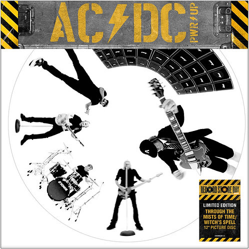 """AC/DC:""""Through The Mists of Time"""" / """"Witch's Spell"""" 12"""" Vinyl Record"""