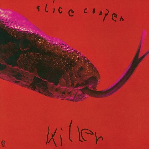 ALice Cooper: Killer Red/ Black Vinyl Record.