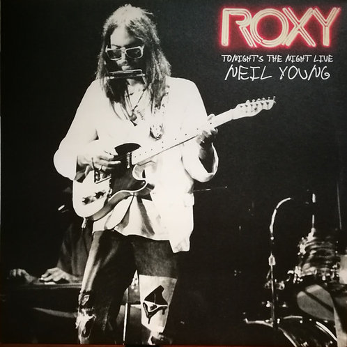 Neil Young Roxy Tonight's The Night Live Vinyl  record front cover