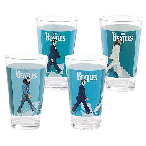 Beatles, The: Abbey Road Pint Glasses