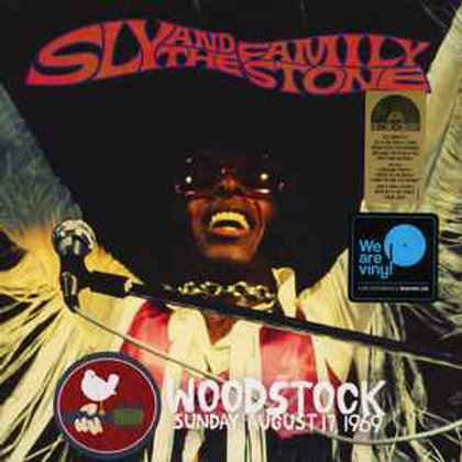 Sly and The Family Stone Woodstock Front Cover