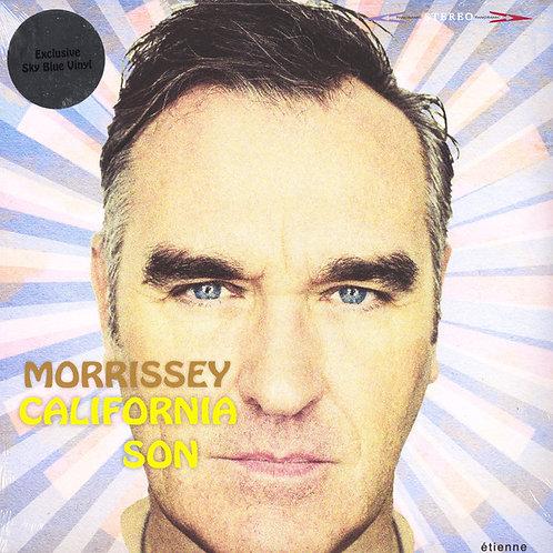 Morrissey: California Son Sky Blue Vinyl Record front cover