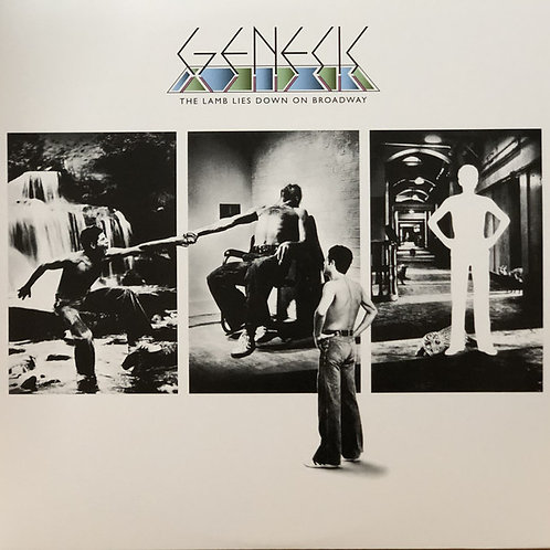 Genesis: The Lamb Lies Down On Broadway front cover