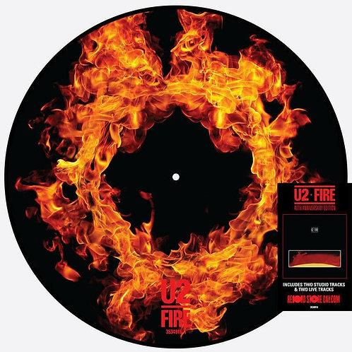 """U2 Fire 12"""" Picture Disc"""